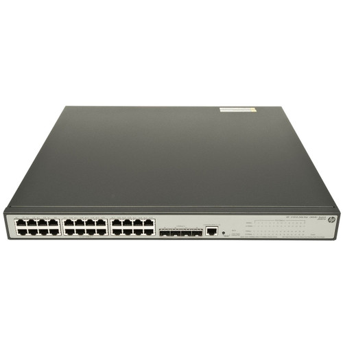 HP JE007A 1910 Series 1910-24G-PoE (365W) 24-Port Gigabit 4-Port SFP Switch