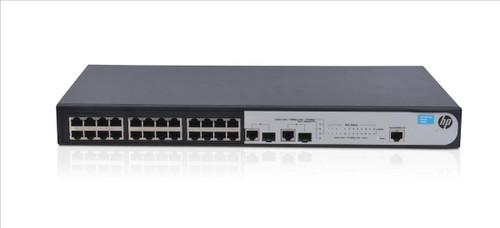 HP JG538A 1910 Series 1910-24 24-Port Fast Ethernet 2-Port SFP Switch