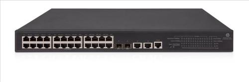 HP JG962A 1950 Series 1950-24G-2SFP+-2XGT-PoE+(370W) 24-Port Gigabit Switch