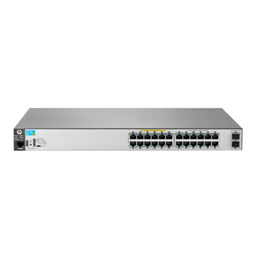 HP J9854A 2530 Series Aruba 2530-24G-PoE+-2SFP+ 24-Port Gigabit Switch