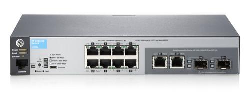 HP J9777A 2530 Series Aruba 2530-8G 8-Port Gigabit 2-Port SFP Switch