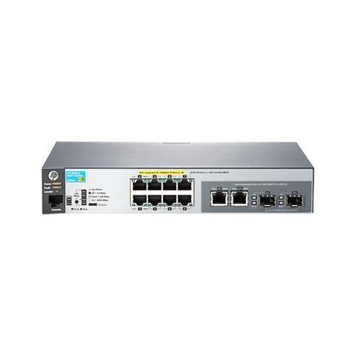 HP J9780A 2530 Series Aruba 2530-8-PoE+ 8-Port Fast Ethernet 2-Port SFP Switch