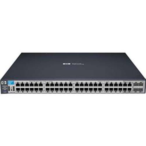 HP J9472A 3500 Series HPE 3500-48 44-Port Fast Ethernet 4-Port SFP Switch