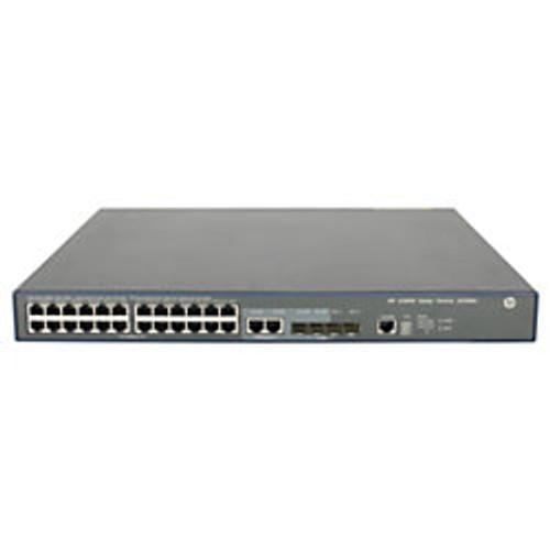 HP JG306A 3600 SI Series 3600-24-PoE+ v2 24-Port Fast Ethernet 4-Port SFP Switch