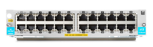 HP J9986A Aruba 5400R zl2 Series 24-Port Gigabit PoE+ v3 Switch Module
