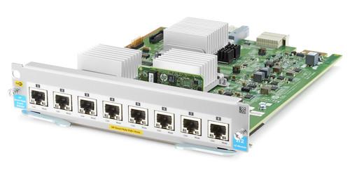 HP J9995A Aruba 5400R zl2 8-Port 1/2.5/5/10GBASE-T PoE+ MACsec v3 Switch Module