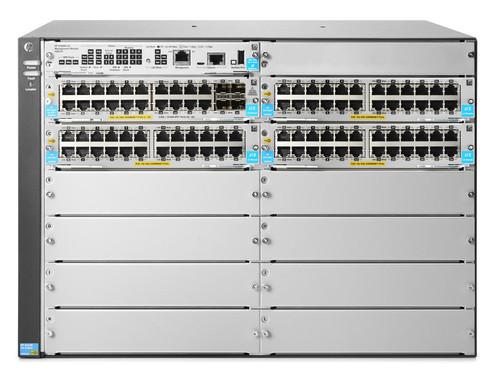 NEW HP JL001A Aruba 5400R zl2 Series 5412R 92GT PoE+/4SFP+ v3 8-Slot Switch