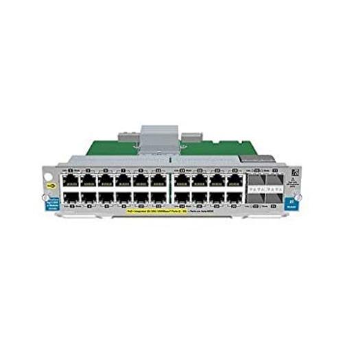 HP J9535A 20-Port GT PoE+/4-Port SFP v2 zl Module