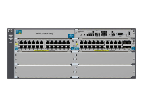 HP J9447A 5400zl Series ProCurve 48-Port Gigabit 5406zl-48G-PoE+ Switch