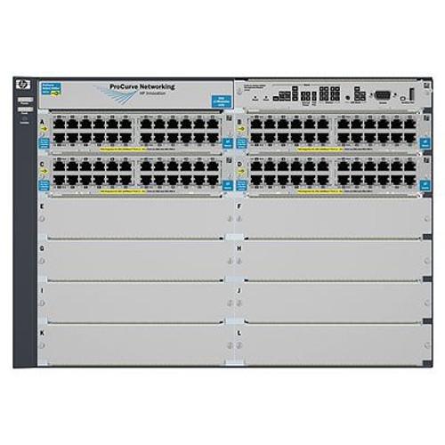 HP J8700A 5400zl Series ProCurve 96-Port Gigabit PoE 5412zl-96G IE Switch