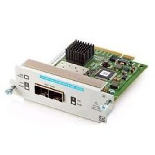 HP J8737A 8100fl Series 2-Port 10GbE X2 Media-Flexible fl Switch Module