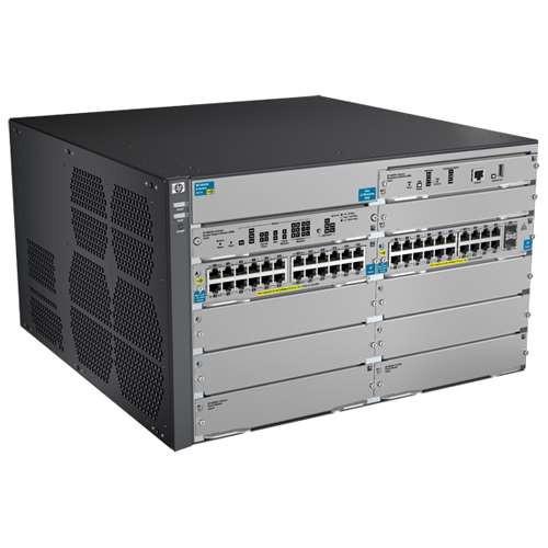 HP J9638A 8200zl Series 8206-44G-PoE+-2XG v2 zl w/ Premium Software Switch
