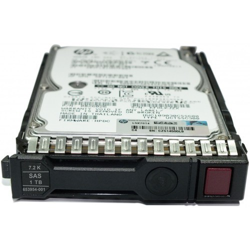HP 605835-B21 1TB 6G SAS 7.2K rpm SFF 2.5-inch Dual Port Midline Hard Drive