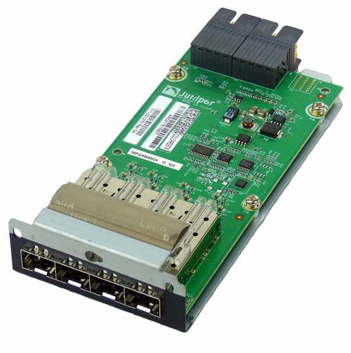 Juniper EX-UM-4X4SFP EX4300 4-Port 10 Gigabit SFP+ Uplink Switch Module