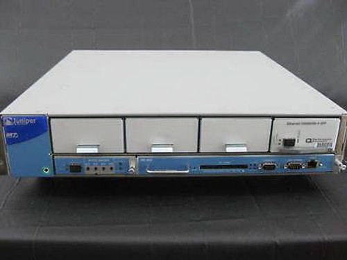 Juniper M7iBASE-AC-2GE M7i Router w/ RE-850-1536 FEB-M7I-SVCS PE-1GE-SFP-QPP