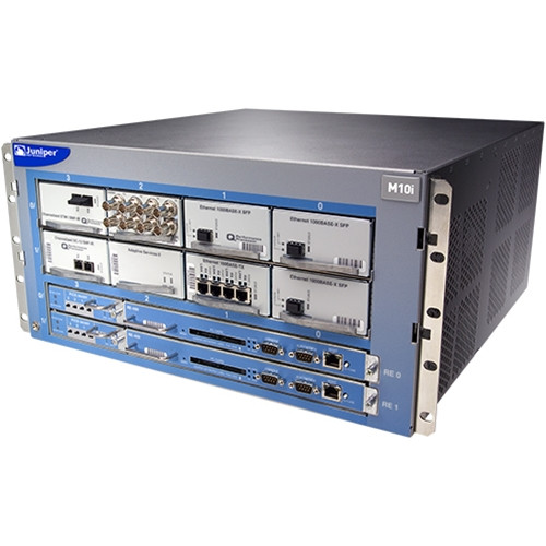 Juniper M10iBASE-AC M Series Multiservice Edge AC Router Chassis