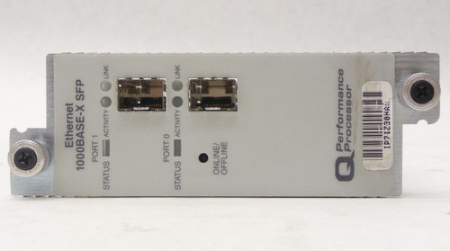 Juniper PB-2GE-SFP-QPP 2-Port Gigabit Ethernet IQ SFP PIC Module