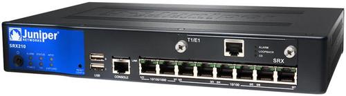 Juniper SRX210HE2-POE SRX210 6-Port FE (4-Port PoE) 2-Port GE Services Gateway