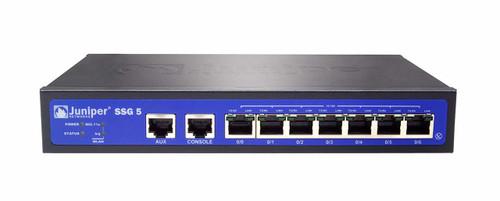 Juniper SSG-5-SH SSG5 Series 7-Port FE 256MB RS232 Secure Services Gateway