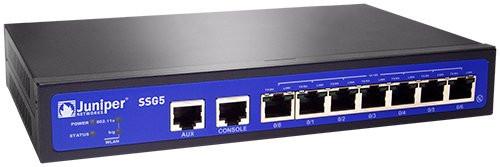 Juniper SSG-5-SH-M SSG5 Series 7-Port FE 256MB v.92 Secure Services Gateway