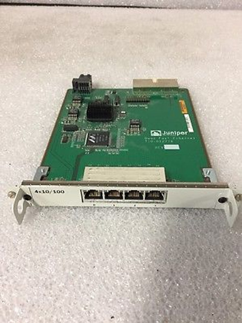 Juniper JXE-4FE-TX-S SSG 500 Series 4-Port Fast Ethernet Enhanced PIM Module