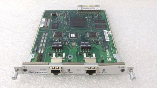 Juniper JX-2E1-RJ48-S Dual-Port E1 PIM Module