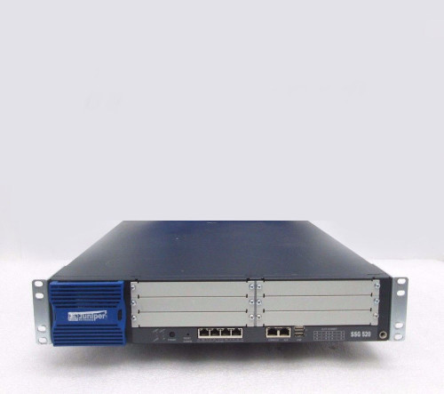Juniper SSG-520B-001 SSG 500 Series SSG520 4-Port Gigabit Base Memory Secure Ser