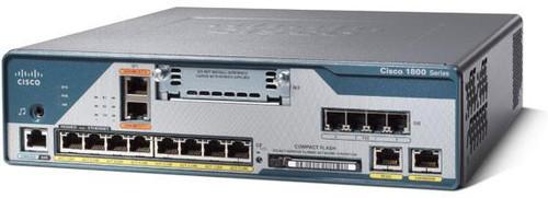 Cisco C1861-UC-4FXO-K9 1800 Series ISR 1861 12-User CME Voice Router
