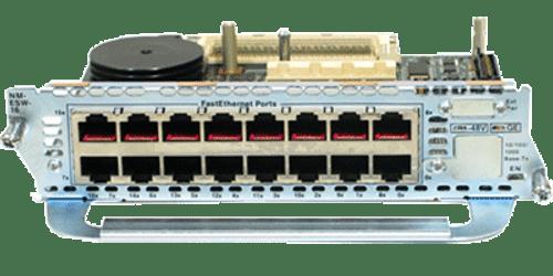 Cisco NM-16ESW NM-ESW-16 16 Port Network Module