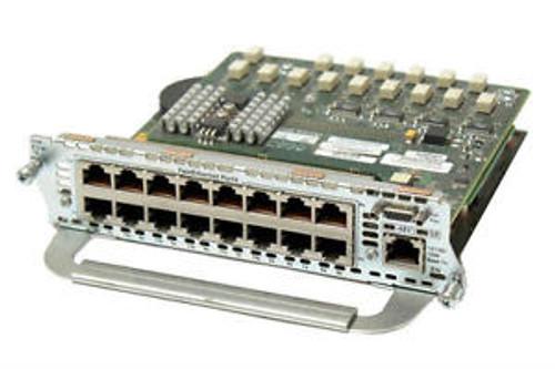 Cisco NM-16ESW-PWR 16 Port Inline POE Network Module