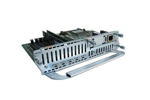 Cisco NM-HDV-1E1-30 w/3 x PVDM-12 VWIC-1MFT-E1 Network Module