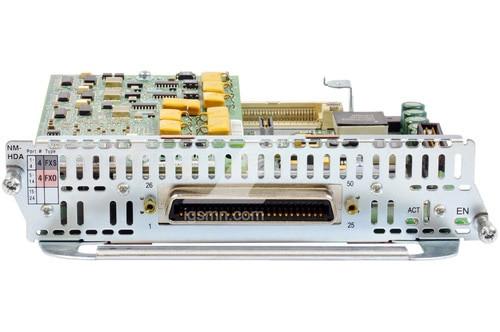 Cisco NM-HDA-4FXS 4-port FXS analog (HDA) voice/fax Network Module