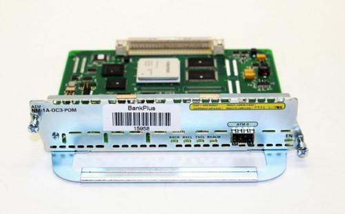 Cisco NM-1A-OC3-POM ATM OC3 Module w/ Single POM (SFP) Slot Network Module