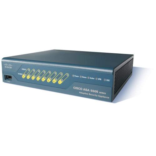 Cisco ASA5505-UL-BUN-K9 Unlimited 3DES Adaptive Security Appliance
