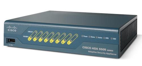 Cisco ASA5505-SSL25-K9 ASA 5505 SSL/IPsec VPN Edition w/ 25 IPsec Peers Firewall