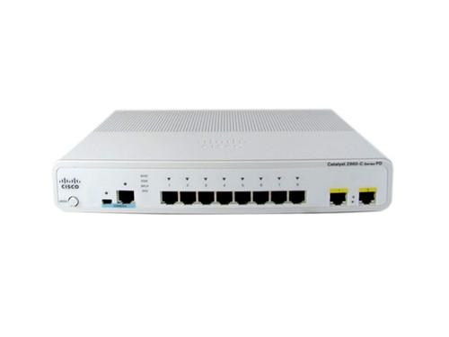 Cisco WS-C2960CPD-8PT-L 2960-C Series 8 Port Fast Ethernet PoE Switch