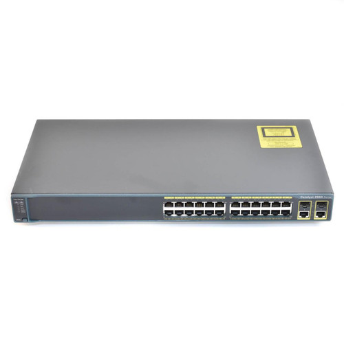 Cisco WS-C2960+24TC-L 2960-Plus Series 24 Port Fast Ethernet Switch