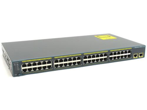 Cisco WS-C2960+48TC-L 2960-Plus Series 48 Port Fast Ethernet Switch