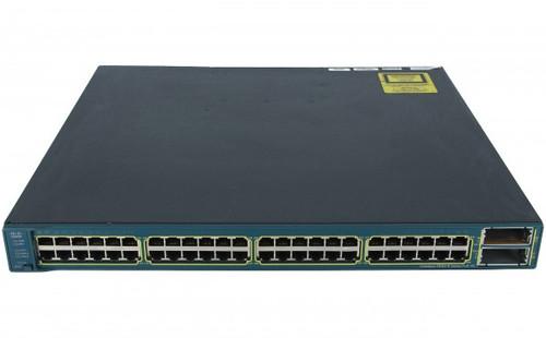 Cisco WS-C3560E-48PD-E 48 Port Gigabit 802.3af POE Catalyst Switch