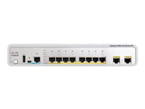Cisco WS-C3560CPD-8PT-S 3560-C Series 8-Port Gigabit PoE PD PSE Switch