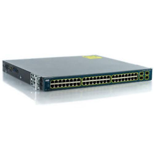 Cisco WS-C3560G-48PS-E Catalyst 3560G Gigabit POE Switch