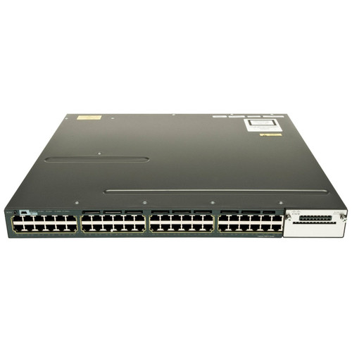 Cisco WS-C3560X-48P-E 3560-X Series 48-Port Gigabit PoE+ IP Services Switch