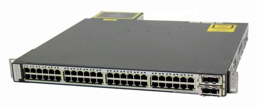 Cisco WS-C3750E-48PD-EF 48 Port Gigabit Stackable Switch