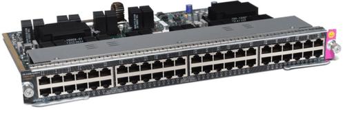 Cisco Catalyst 4500E Cisco Catalyst 4500E 48-Port UPOE with 12 mGig ports RJ45 Line Card