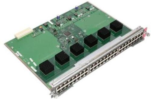 Cisco WS-X4548-RJ45V+ Catalyst 4500 PoE 802.3af / PoEP-Ready 10/100/1000 switch