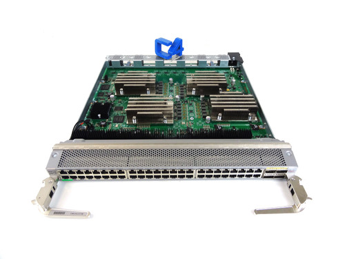 Cisco N9K-X9564TX Nexus 9500 48-Port 1/10GBASE-T 4-Port QSFP+ Switch Line Card