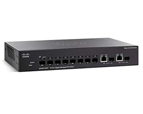 Cisco SG300-10SFP 300 Series 8 Port Gigabit SFP Switch