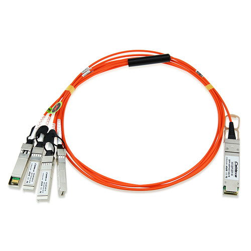 Cisco QSFP-4X10G-AOC1M 40GBase-AOC 1m Active Optical Breakout QSFP Cable