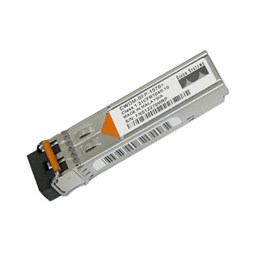 Cisco CWDM-SFP-1570 Gigabit Ethernet 1 + 2 Gb Fiber Channel CWDM SFP Transceiver