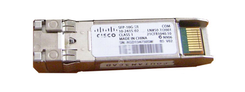 NEW Cisco SFP-10G-SR 10-Gigabit Ethernet SFP Module